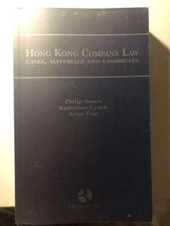 Hong Kong Company Law - Cases, Materials and Comments