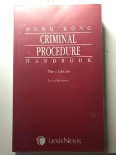 Hong Kong Criminal Procedure Handbook