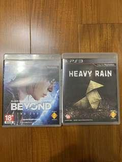 🚚 PS3遊戲—Heavy Rain/Beyond