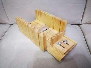 木製切皂器