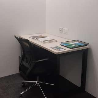 Private office across Tampines MRT @$550/month, 54 sqft