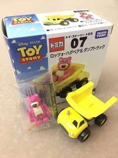 Tomica Toy Story Rozzo Hugbear & Dump Truck Disney Pixar Takara Tomy Car 07