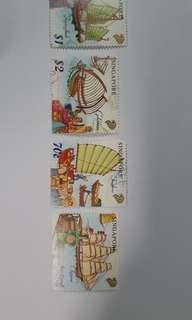 星加坡郵票