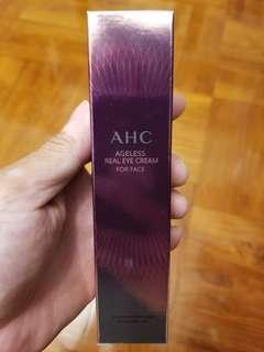 包平郵韓國產AHC Ageless Real Eye Cream for Face第七代極緻眼霜30ml