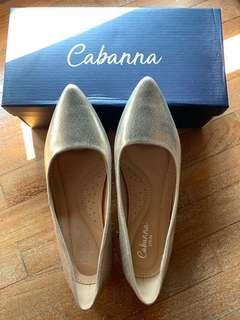 Cabanna Spain Wedges Gold