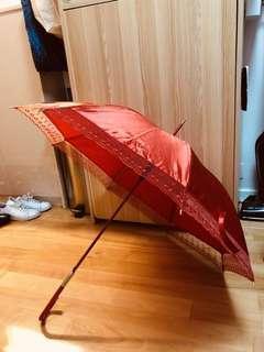 結婚物資 - 新娘出門紅傘