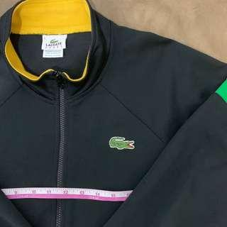 Auth lacoste jacket this week only full zip