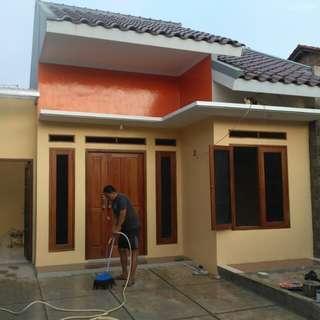 Rumah bangunan baru siap huni di perumahan BSI pengasinan sawangan Depok