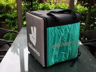 Deliveroo Food Warmer Backpack Box