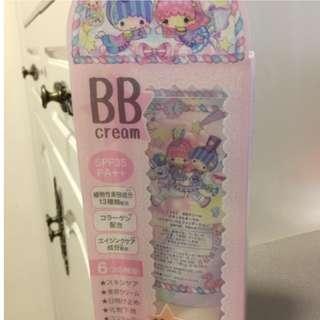(只作收藏用途)日本ECONECO x Little Twin Stars卡通限定版 BB Cream自然色 50ml Sanrio化妝品(已過期)