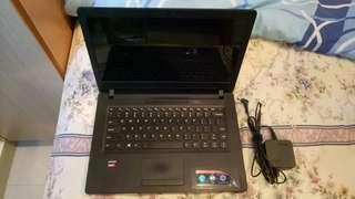 Laptop Lenovo Ideapad 110 14AST RAM 4GB HDD 1TB win10 Fullset