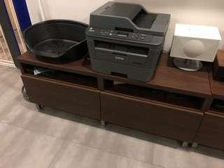 IKEA Besta TV console with Drawers