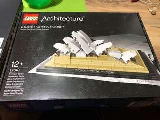 🚚 Lego 21012 Sydney opera house