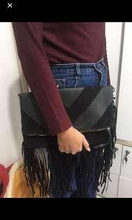 2in1 slingbag and clutch brand newlook