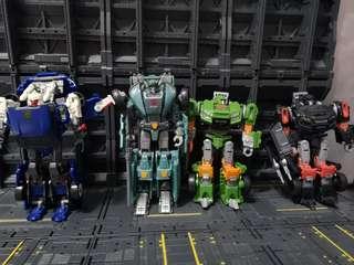 Transformers Generation Tracks Kup Hoist Trailbreaker