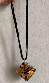 Acrylic art Necklace