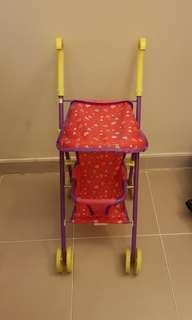 Peppa pig toy stroller
