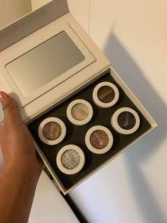 Colourpop eyeshadow set