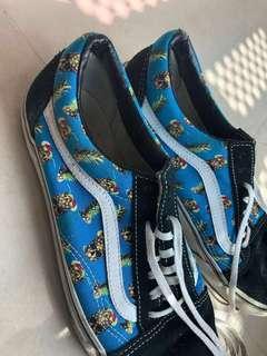 Vans Pineapple Skull Sneakers