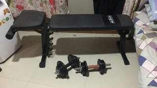 Gym full set equipment