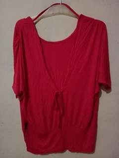 Kaos rayon pink