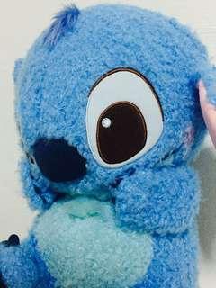 Stitch - Red Cheek Maga Jumbo Rolling Plushy
