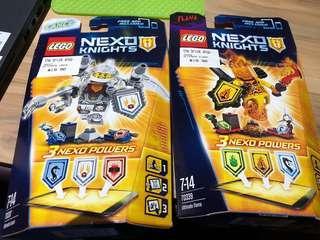 Lego nexo Knights 70337 70339