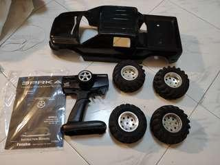 Futaba RC with free Pick up body and wheels