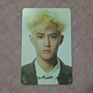EXO Suho Overdose photocard