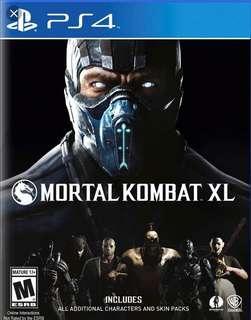 🚚 Mortal combat/PS4