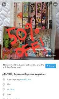 [BL/YAOI] Japanese Boys Love Magazines