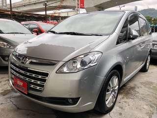 2011年納智捷MPV 2.2T 旗艦型 新車價110萬 有夜視!