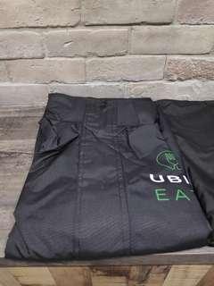 Uber Eatz Rain Coat & Pants Set (Size Large)