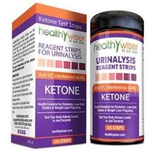 125 Ketone Test Strips