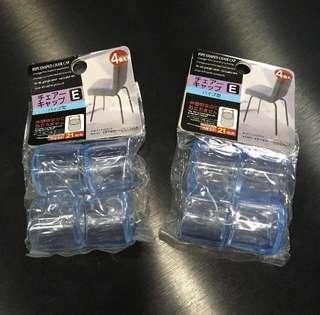 Transparent Clear Chair Legs Protectors 21mm