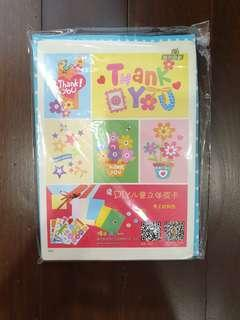🚚 DIY Colouring Thank You Cards