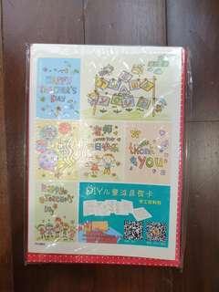 DIY Colouring Teachers Day Cards