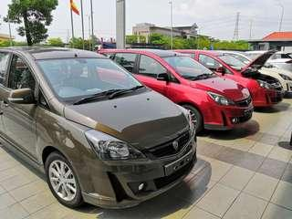 Proton Exora 1.6 turbocharged READY STOCK
