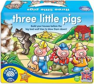 🚚 Orchard toys three little pigs