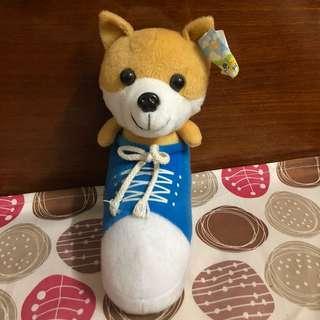 🚚 二手 柴犬 狗狗 球鞋設計 玩具 玩偶 娃娃