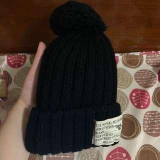 🚚 全新 雙層 保暖 絨毛 毛球 毛線帽 毛帽 帽子
