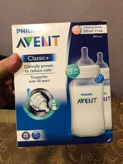 Avent Bottles (classic) - (price inclusive postage to sm)