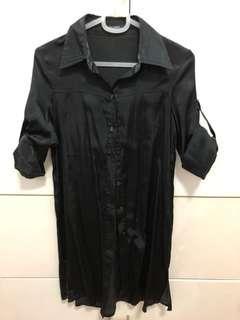 Black Office Dress S