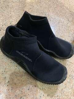 Scuba diving shoe