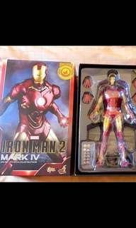 🚚 Hot toys iron man mark 4 Shanghai Disneyland exclusive mark IV