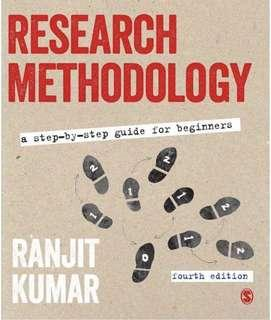 Research Methodology Ranjit Kumar