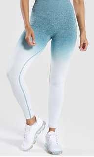 Gymshark ombré seamless leggings size S
