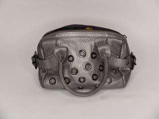 Raoul Grey Bag with Studs