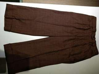 Celana Bahan Brown Dodo