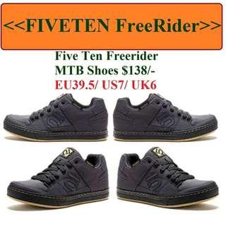 Five Ten Freerider MTB Shoes Size EU39.5/US 7/UK 6 $138/$148